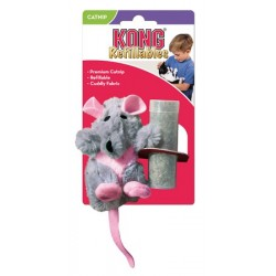 KONG Refillable - Jouet herbe à chat rechargeable