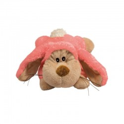 Peluche KONG Cozie - Floppy the Rabbit - Lapin Rose