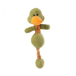 Peluche Canard Bungee pour Chien - House of Paws