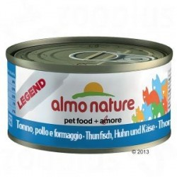 ALMO NATURE Legend Chat, Thon Poulet Fromage 70gr