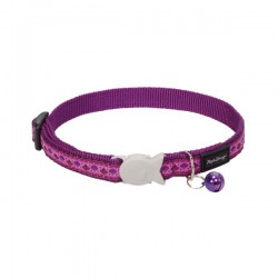 PROMO -15% ! Collier RED DINGO Carnival Violet pour Chat