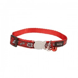 Collier RED DINGO Hibiscus Rouge pour Chat