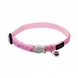 Collier RED DINGO Breezy Love Rose pour Chat
