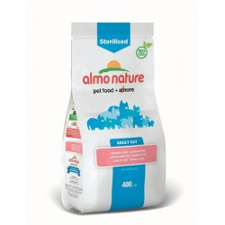 ALMO NATURE Holistic Sterilised/ Light Croquettes Chat Adulte stérilisé - Saumon et Riz (plusieurs conditionnements)