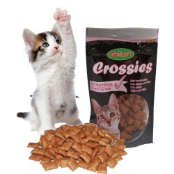 CROSSIES fourrés au Malt friandise pour chat 50gr