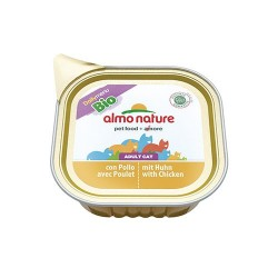 ALMO NATURE / DAILY MENU BIO pour Chat - Poulet, Barquette 100gr