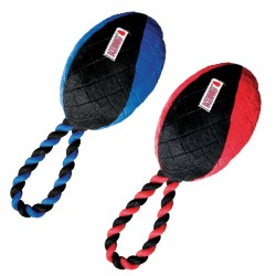 KONG Crossbit Football with rope - Small