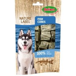 Fish cubes 75gr - cubes 100% poisson - Nature Label BUBIMEX