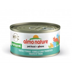 ALMO NATURE Chat, Truite et Thon 70gr