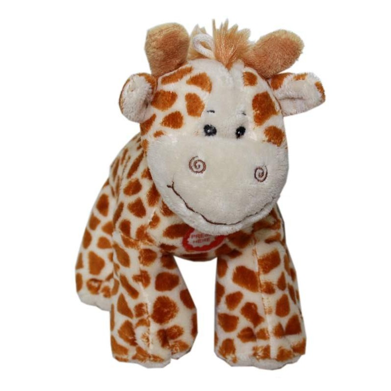 jouet peluche girafe sonore 20cm pour chien les amis de celine. Black Bedroom Furniture Sets. Home Design Ideas