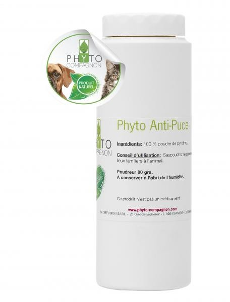PHYTO COMPAGNON - Phyto Anti-puces 80gr