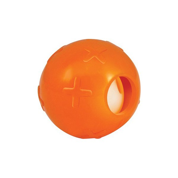 PETSTAGES Chat - Balle avec grelot ORKA KAT Ball with Bell