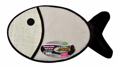 tapis de jeu poisson pour chat 70 x 40cm bubimex les amis de celine. Black Bedroom Furniture Sets. Home Design Ideas