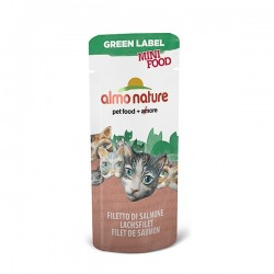 GREEN LABEL Mini Food, Filet de Saumon ALMO NATURE 3 gr
