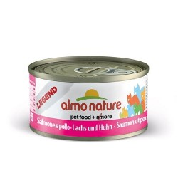 ALMO NATURE Legend Chat, Saumon et Poulet 70gr