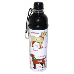 Gourde à bille PUPPY LOVE pour Chien 750ml - LONG PAWS