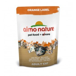 ALMO NATURE Orange Label - Croquettes Chat Poulet