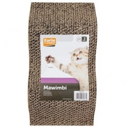 Griffoir pour Chat en carton VAGUE MAWIMBI - KARLIE FLAMINGO
