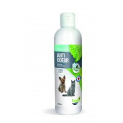 NATURLY'S OCTAVE Shampoing Anti Odeur Menthe Eucalyptus pour Chien/ Chat 240ml