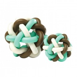 Balle Loopy Loop Choco pour Chien (7.5cm)