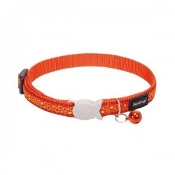 Collier RED DINGO Bedrock Orange pour Chat
