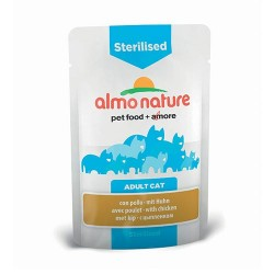 ALMO NATURE Sterilised au Poulet 70gr