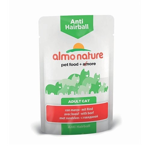 ALMO NATURE Anti Hairball au Boeuf 70gr