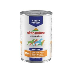 ALMO NATURE Chien, Single Protein Poulet 400gr