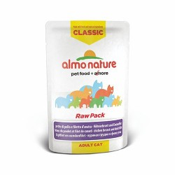 ALMO NATURE Classic Raw Pack Chat - Blanc de Poulet et Filet de Canard 55gr