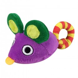 PETSTAGES Chat - Carry Critter Mouse (herbe à chat)