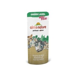 GREEN LABEL Mini Food, Filet de Poulet ALMO NATURE 3 gr