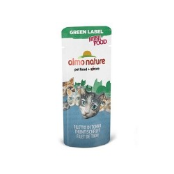 GREEN LABEL Mini Food, Filet de Thon ALMO NATURE 3 gr
