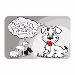 Set de Table tapis COMICS CHIEN 43*28cm - CAMON