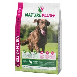 EUKANUBA NaturePlus+ Chien Adulte Grande Race à l'Agneau