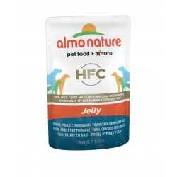 JELLY CLASSIC Chien Thon Poulet Fromage 70gr - ALMO NATURE