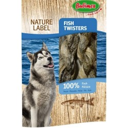 Fish Twisters 60gr - 100% poisson - Nature Label BUBIMEX