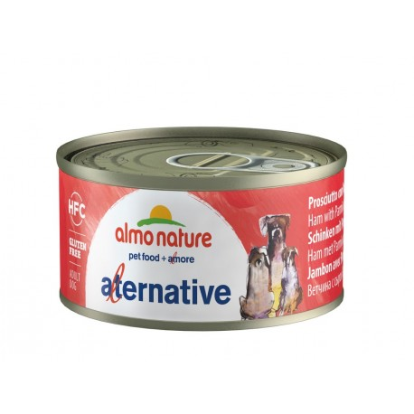 ALMO NATURE HFC Alternative Chien, Jambon avec Parmigiano 70gr