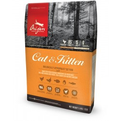 ORIJEN Cat and Kitten - Croquettes Chat sans cereales