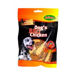 PROMO ! Dogs' BBQ Chicken Filet de poulet - Western Grill Bubimex 70gr