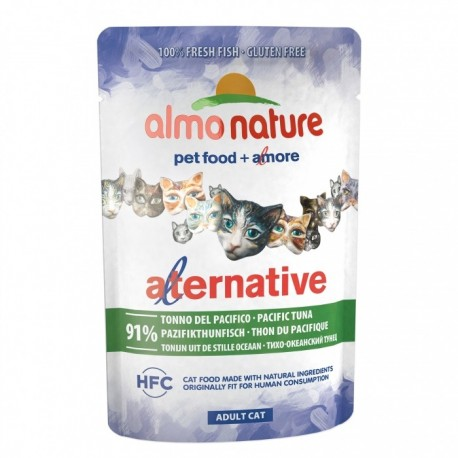 Almo Nature ALTERNATIVE HFC Thon du Pacifique 55gr