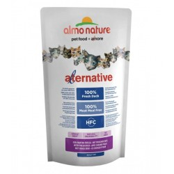 Almo Nature ALTERNATIVE HFC Croquettes Canard pour Chat (plusieurs conditionnements)