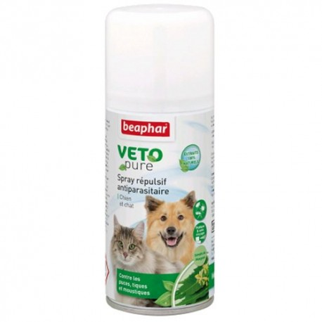Spray insectifuge VETOPURE pour Chien et Chat 150ml