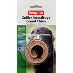 Collier insectifuge VETONATURE - Beaphar pour Grand Chien (beig