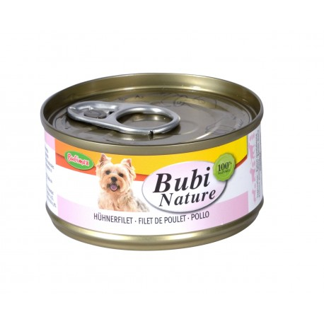 BUBI NATURE Chien, Filet de Poulet 70gr