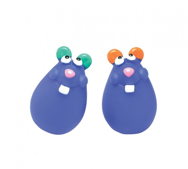 PETSTAGES Chat - Wobble Mice pour Chat (lot de 2 souris)