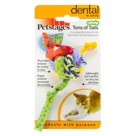 PETSTAGES Chat - Tons of Tails catnip pour Chat