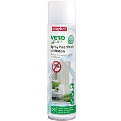 Spray Insecticide Habitation BEAPHAR-VETONATURE 400ml