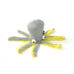 Peluche Pieuvre Octopus catnip pour Chat - BE ONE BREED