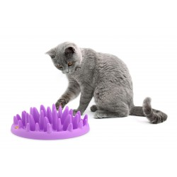 Gamelle anti-glouton anti-étouffement pour Chat CATCH - Karlie Flamingo