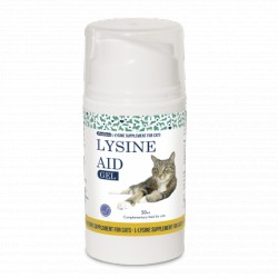 LYSINE AID Gel pour Chat (Herpès Virus FHV-1) - SwedenCare 50ml